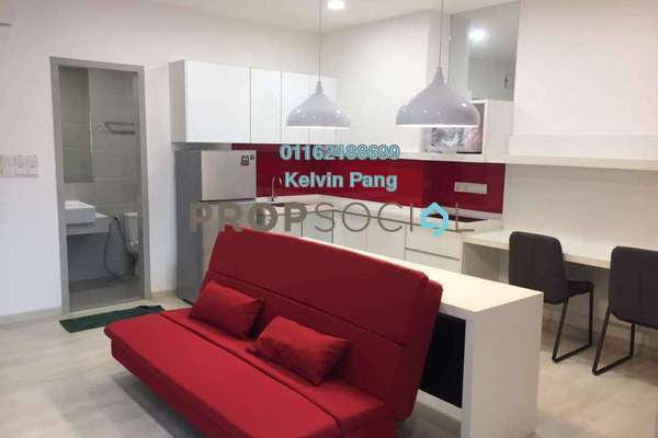 For Sale Condominium at Straits Garden, Jelutong Freehold Fully Furnished 1R/1B 440k