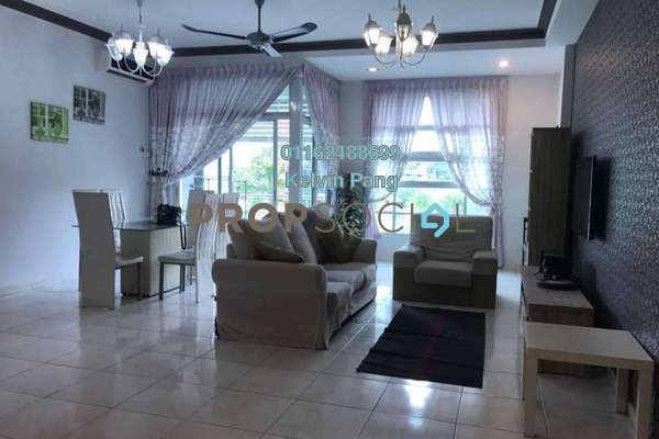 For Rent Condominium at The Brezza, Tanjung Tokong Freehold Fully Furnished 3R/2B 2k