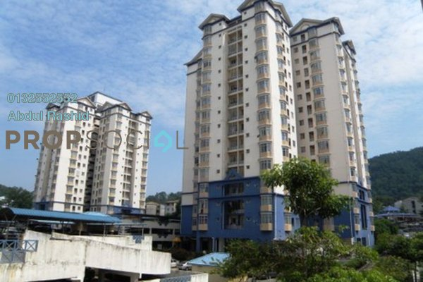 For Rent Condominium at Mawar Sari, Keramat Freehold Semi Furnished 2R/1B 1.45k