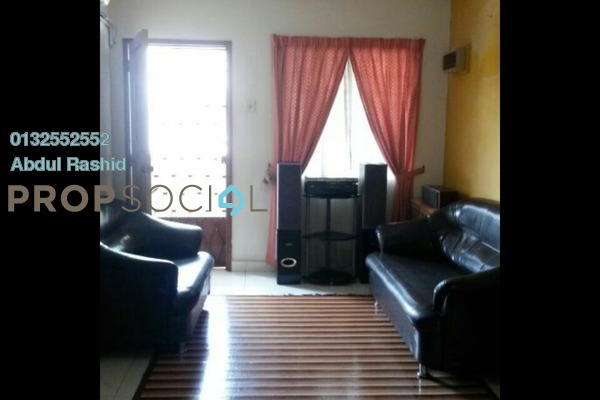 For Sale Condominium at PKNS Taman Keramat Flat, Setiawangsa Freehold Semi Furnished 2R/1B 130k