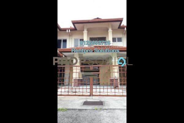 For Rent Terrace at Taman Puncak Jalil, Bandar Putra Permai Freehold Unfurnished 4R/3B 1.2k