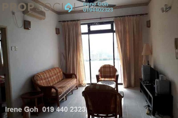 For Rent Condominium at Eden Seaview, Batu Ferringhi Freehold Fully Furnished 3R/2B 1.3k