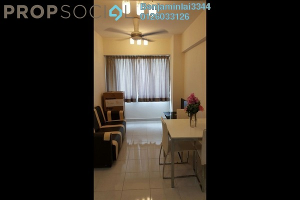 For Sale Serviced Residence at Main Place Residence, UEP Subang Jaya Freehold Fully Furnished 1R/1B 350k