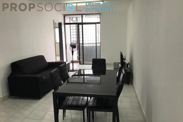 For Rent Condominium at Kenanga Point, Pudu Freehold Fully Furnished 3R/2B 1.8k