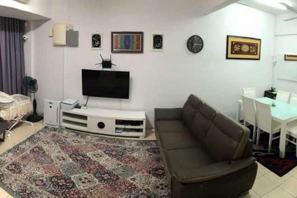 For Sale Terrace at Kemuning Greenville, Kota Kemuning Freehold Semi Furnished 4R/3B 510k