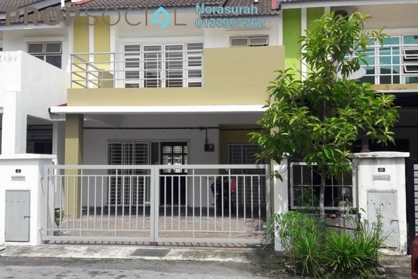For Sale Terrace at Seksyen 15, Bangi Leasehold Semi Furnished 4R/3B 570k