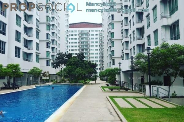 For Rent Condominium at Casa Tiara, Subang Jaya Freehold Fully Furnished 3R/2B 1.75k