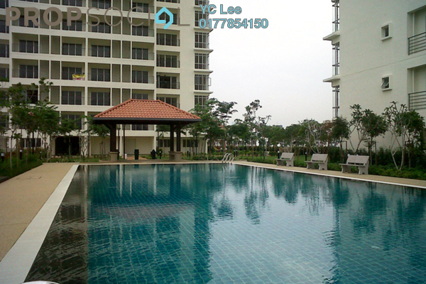 For Rent Condominium at Ampang Putra Residency, Ampang Freehold Fully Furnished 3R/2B 2k
