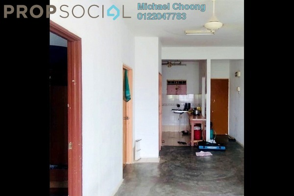 For Sale Apartment at Sri Dahlia Apartment, Bandar Puteri Puchong Freehold Unfurnished 3R/2B 155k