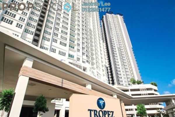 For Sale Serviced Residence at Tropez Residences, Danga Bay Freehold Semi Furnished 3R/2B 438k