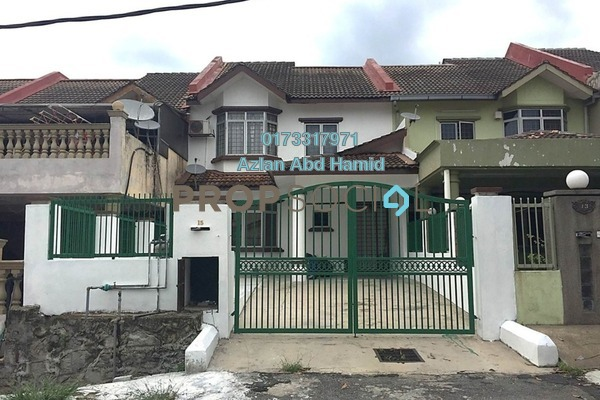 For Rent Terrace at Taman Bukit Angsana, Cheras South Freehold Semi Furnished 3R/3B 1.8k