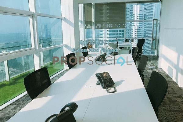 For Rent Office at Menara Axiata, KL Sentral Freehold Semi Furnished 0R/0B 10k
