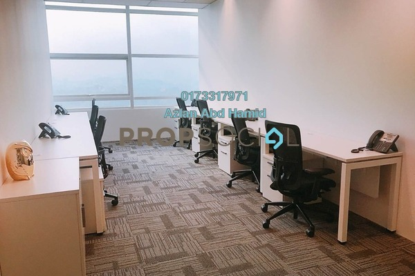 For Rent Office at Menara Axiata, KL Sentral Freehold Semi Furnished 0R/0B 5k