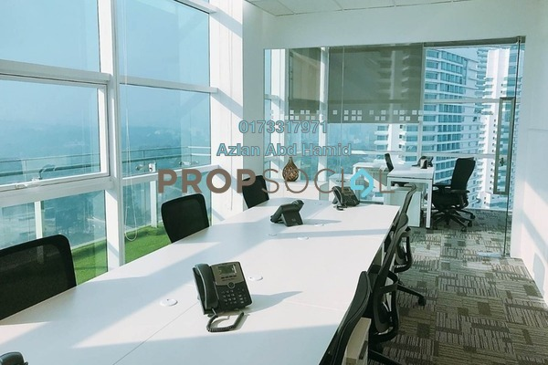 For Rent Office at Menara Axiata, KL Sentral Freehold Semi Furnished 0R/0B 13.5k