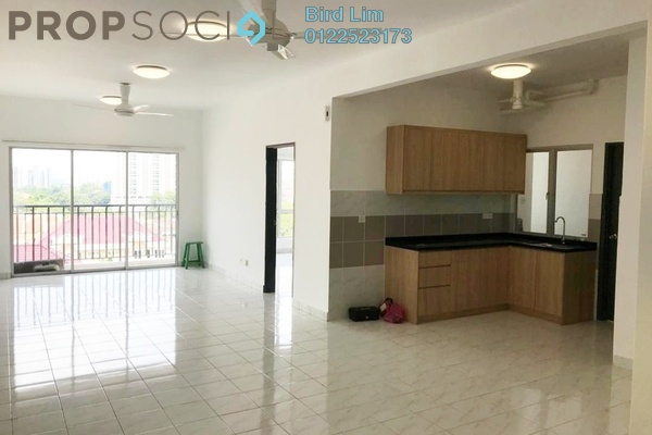 For Rent Terrace at Salak South Garden, Sungai Besi Freehold Semi Furnished 3R/2B 1.3k