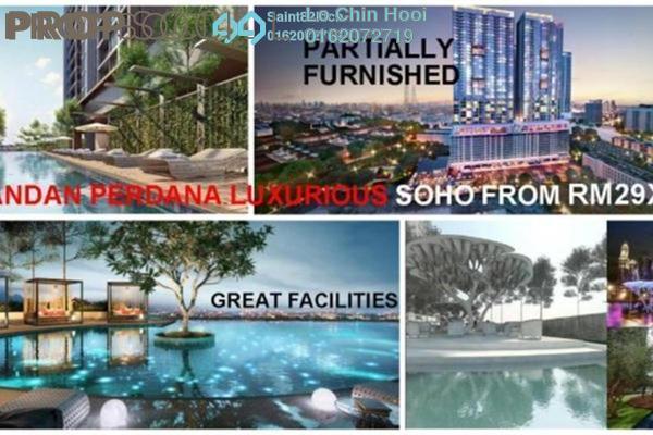For Sale SoHo/Studio at Pandan Perdana, Pandan Indah Freehold Semi Furnished 1R/1B 298k