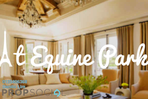 For Sale Condominium at Equine Residence, Equine Park Freehold Semi Furnished 1R/1B 250k