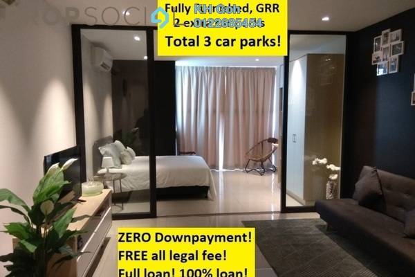For Sale Serviced Residence at 3Elements, Bandar Putra Permai Freehold Fully Furnished 1R/1B 285k