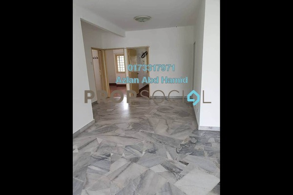 For Rent Apartment at Delima J Apartment, Desa Pandan Freehold Semi Furnished 3R/2B 1.1k
