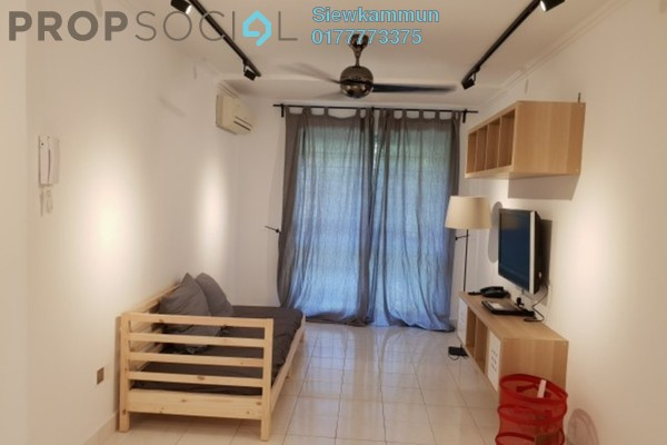 For Rent Apartment at Gugusan Melur, Kota Damansara Freehold Semi Furnished 3R/2B 1.4k