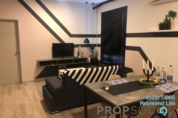 For Rent Condominium at The Domain, Cyberjaya Freehold Fully Furnished 1R/2B 1.2k
