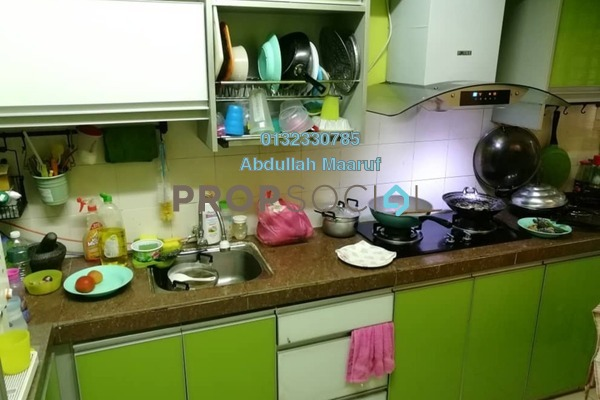 For Sale Apartment at Sri Melor Apartment, Ukay Freehold Semi Furnished 3R/2B 260k