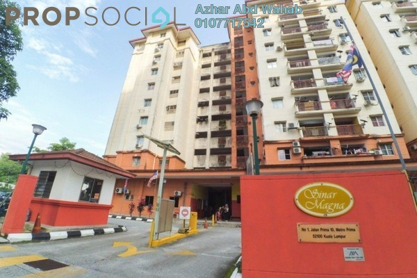 For Sale Apartment at Sinar Magna, Kepong Leasehold Unfurnished 3R/2B 300k