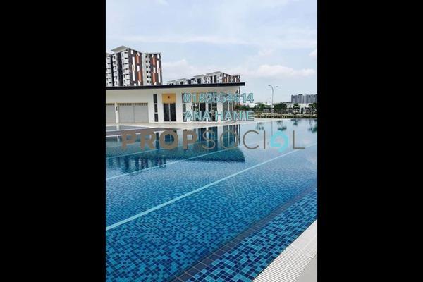 For Rent Apartment at Seri Mutiara, Setia Alam Freehold Unfurnished 3R/2B 950translationmissing:en.pricing.unit