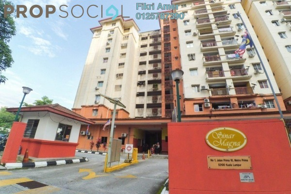 For Sale Apartment at Metro Prima, Kepong Leasehold Unfurnished 3R/2B 300k