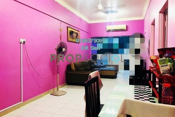 For Sale Condominium at Prima Bayu, Klang Freehold Semi Furnished 3R/2B 270k
