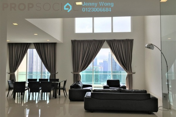 For Rent Condominium at The Park Residences, Bangsar South Freehold Semi Furnished 4R/4B 7.9k