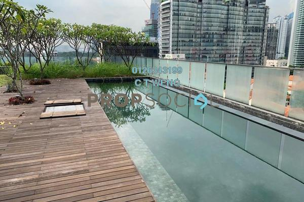 For Sale Condominium at Dedaun, Ampang Hilir Freehold Semi Furnished 4R/7B 5.85m