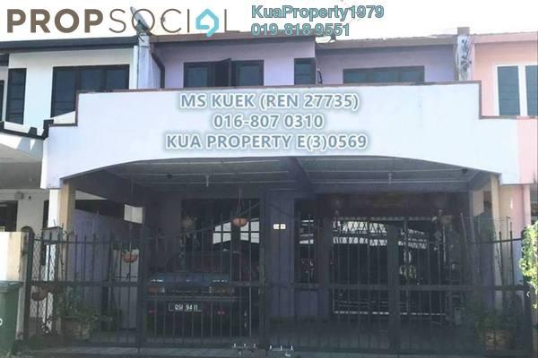 For Sale Terrace at Tabuan Jaya, Kuching Freehold Unfurnished 4R/3B 585k