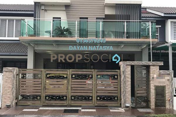 For Sale Terrace at Seri Bangi, Bandar Baru Bangi Freehold Semi Furnished 4R/3B 890k