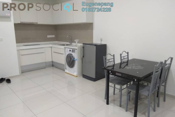 For Rent Serviced Residence at D'Sara Sentral, Sungai Buloh Freehold Fully Furnished 2R/1B 1.8k