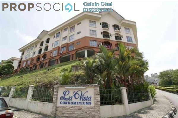 For Sale Condominium at La Vista, Bandar Puchong Jaya Freehold Semi Furnished 4R/3B 425k