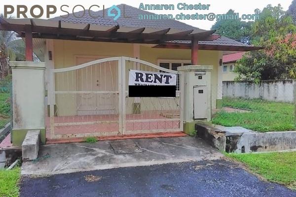 For Rent Bungalow at Taman Hulu Langat Jaya, Batu 9 Cheras Freehold Semi Furnished 3R/2B 3.3k