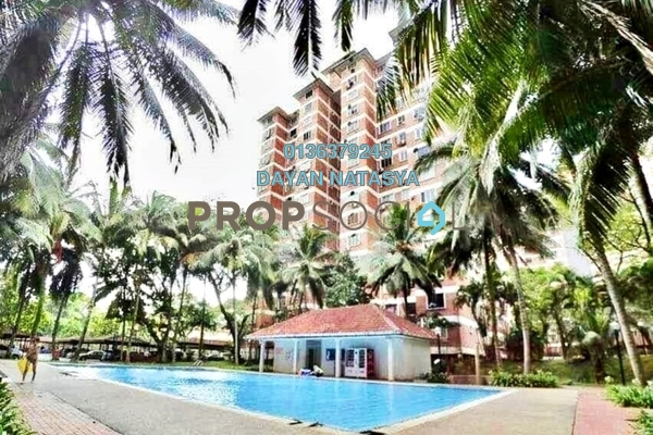 For Sale Condominium at Garden Park, Bandar Sungai Long Freehold Semi Furnished 3R/2B 230k