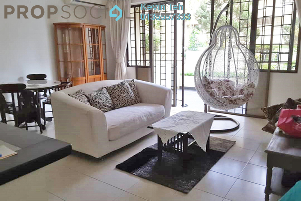 For Rent Condominium at Tivoli Villas, Bangsar Freehold Fully Furnished 2R/2B 3k