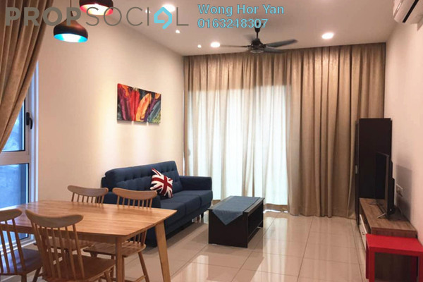 For Rent Serviced Residence at Sunway GEO Residences, Bandar Sunway Freehold Fully Furnished 2R/2B 3k