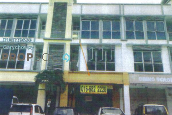 For Sale Shop at Klang Sentral Commercial Centre, Meru Freehold Semi Furnished 1R/1B 393k