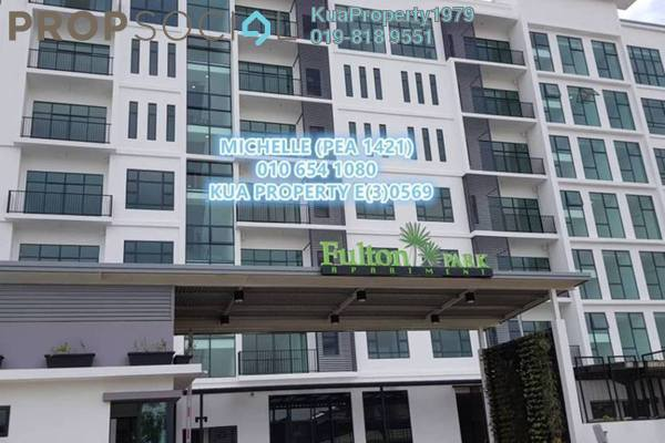 For Sale Apartment at Fulton Park, Kuching Freehold Unfurnished 2R/2B 495k