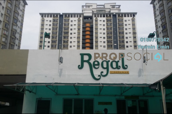 For Sale Condominium at Endah Regal, Sri Petaling Leasehold Semi Furnished 3R/2B 370k