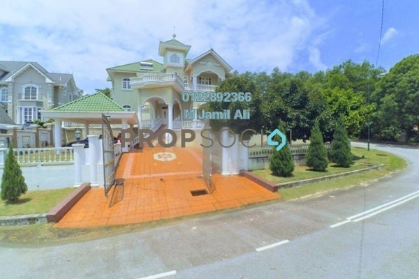 For Sale Bungalow at Kayangan Heights, Shah Alam Freehold Semi Furnished 9R/7B 2.65m