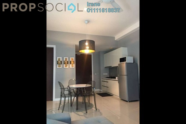 For Rent Condominium at Hampshire Residences, KLCC Freehold Fully Furnished 1R/1B 3.5k