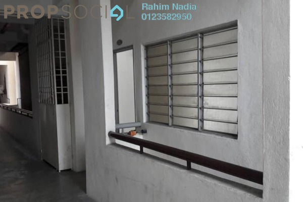 For Sale Apartment at Apartment Kejora, Shah Alam Leasehold Semi Furnished 3R/3B 330k