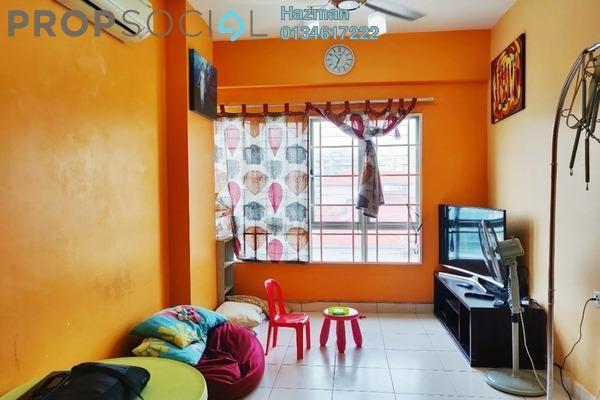 For Sale Condominium at 1 Petaling, Sungai Besi Leasehold Semi Furnished 3R/2B 388k