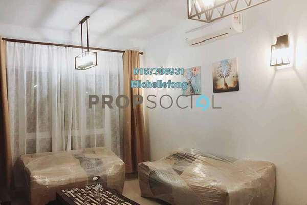 For Sale Serviced Residence at Tropez Residences, Danga Bay Freehold Semi Furnished 2R/2B 608k