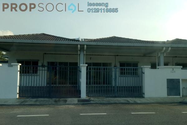 For Sale Terrace at Taman Sungai Kapar Indah, Kapar Freehold Unfurnished 3R/2B 438k