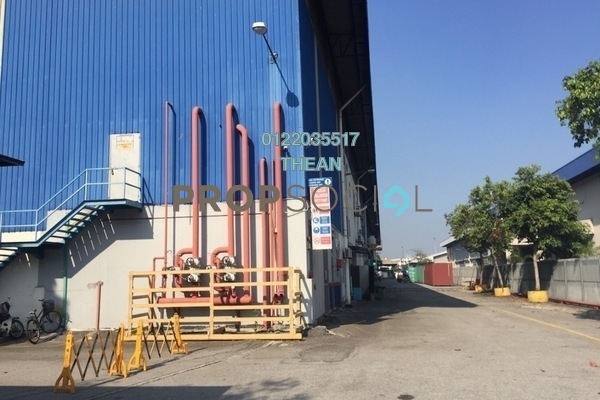 For Rent Factory at Pulau Indah Industrial Park, Port Klang Freehold Unfurnished 0R/0B 224k